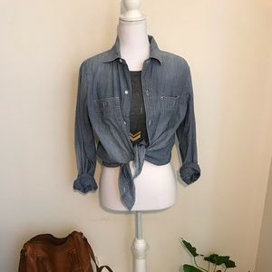 Madewell Chambray Buttondown